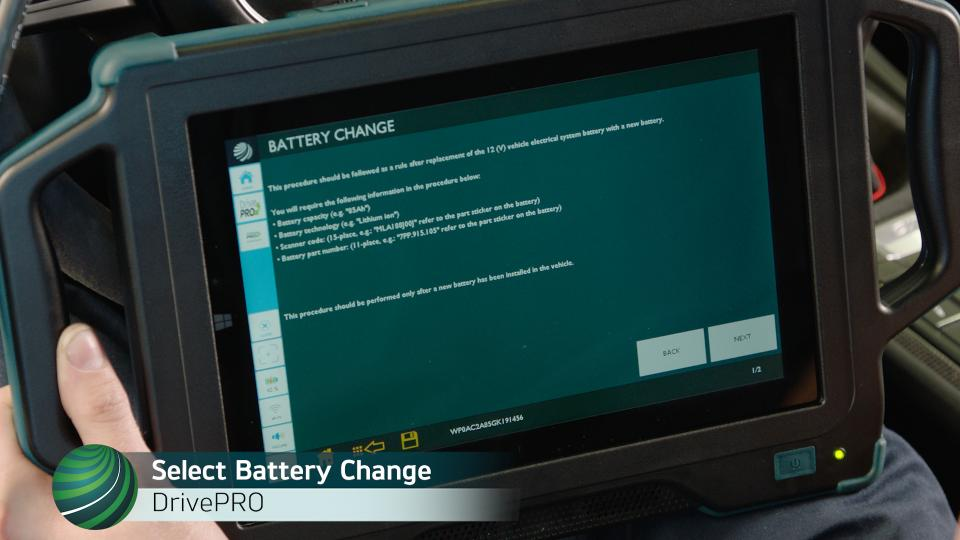 Registering a Battery Change on Porsche 981 models