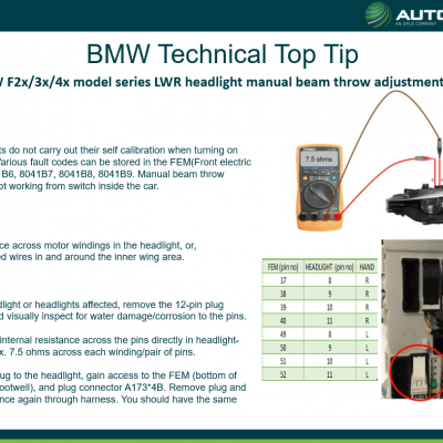 Top Tip - BMW